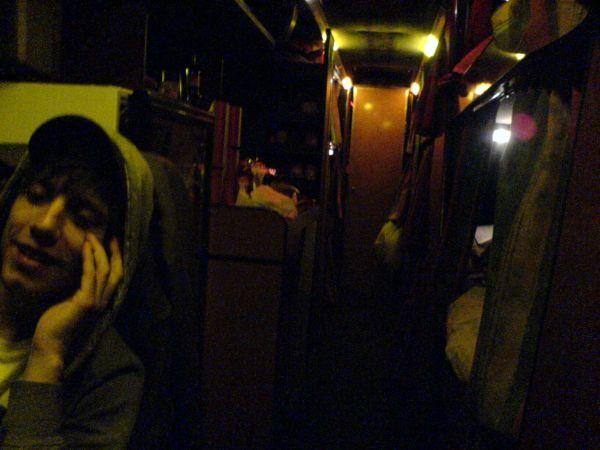 Innenansicht Tourbus